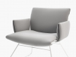 DS-515 Lounge Chair with Armrests 9