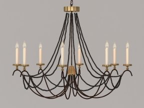 18th C Italian Bead Chandelier 45