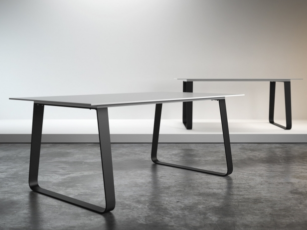 Vilna Dining Table 180, 240 3d model   Ligne Roset
