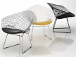 Bertoia Small Diamond Chair 2