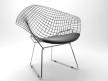 Bertoia Small Diamond Chair 7