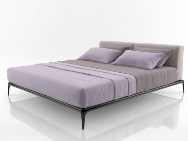 Park Bed 3d Model Poliform Italy