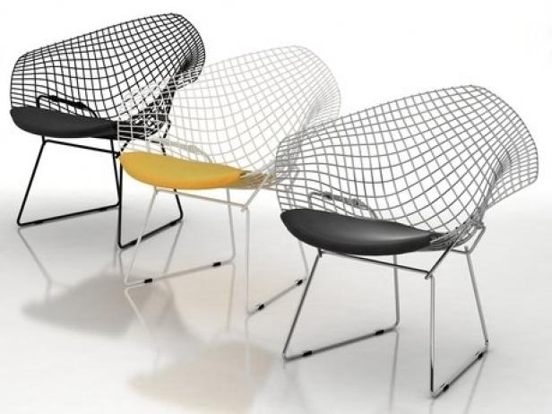Bertoia Small Diamond Chair 3