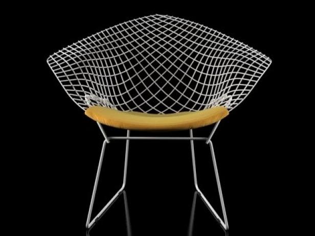 Bertoia Small Diamond Chair 11