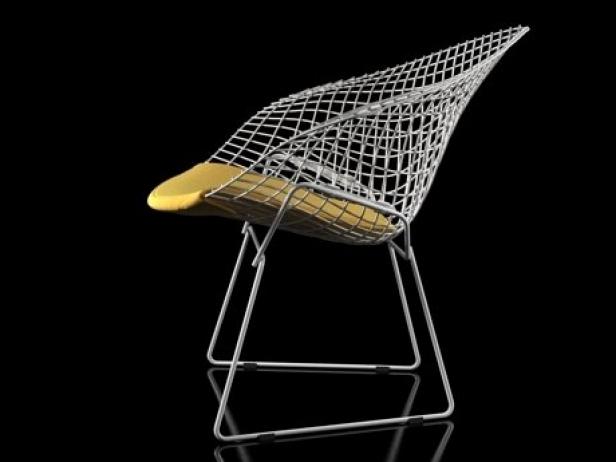 Bertoia Small Diamond Chair 12