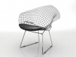 Bertoia Small Diamond Chair 4