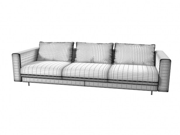 Enki 3-Seater Sofa 10