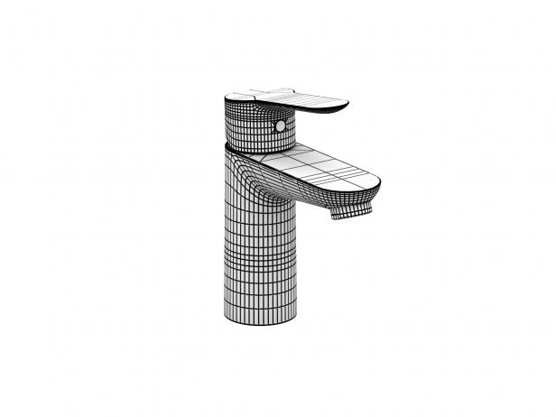 Bau Wall-hung Basin 45 Set 7