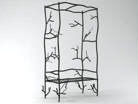 Twig Trellis Bench