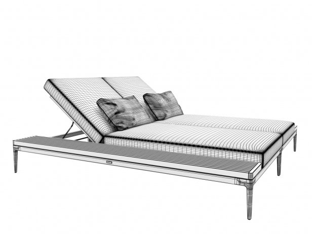 Poolside Double Lounger 6