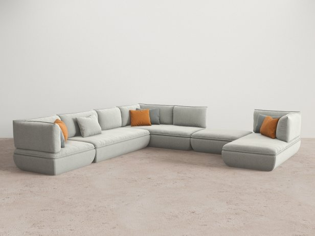 Mimic Modular Sofa Comp H 2