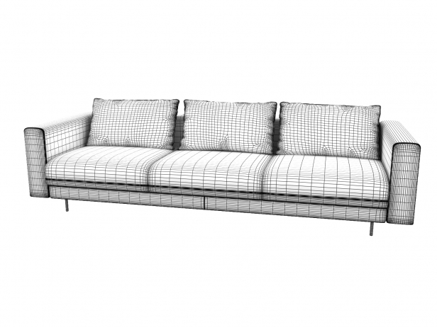 Enki 3-Seater Sofa 9