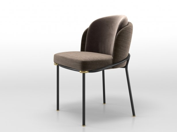 Fil Noir Dining Chair 5