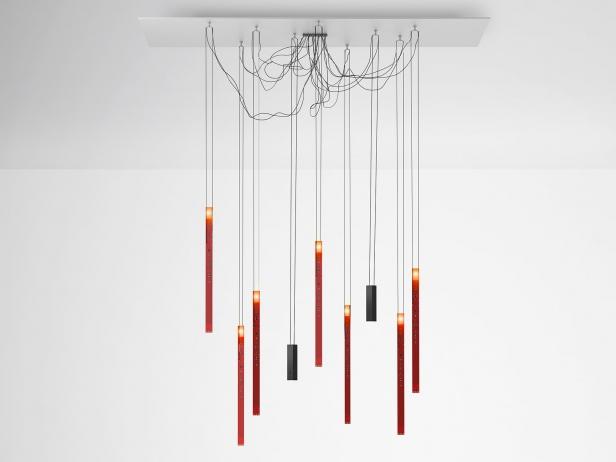 flying flames 3d model ingo maurer. Black Bedroom Furniture Sets. Home Design Ideas