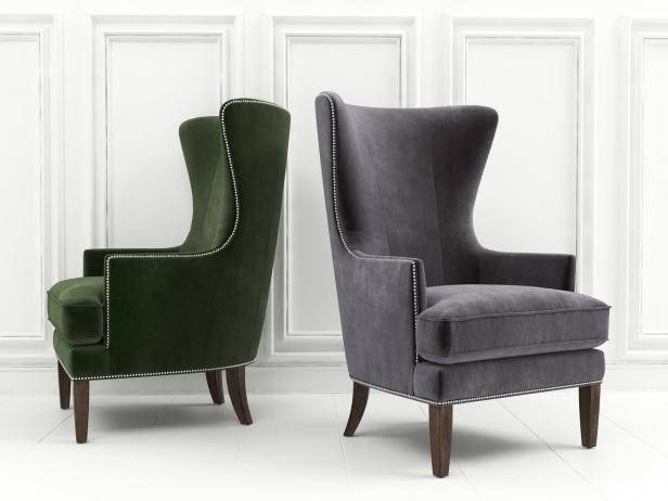 Whitney Accent Chair 3d Model Bassett Usa