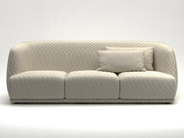 Redondo sofa 245 3d model moroso for Sofa exterior redondo