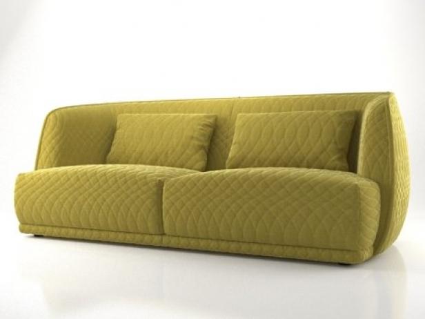 Redondo sofa 215 3d model moroso for Sofa redondo jardin