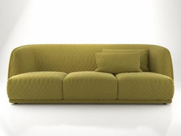Redondo sofa 245 3d model moroso for Sofa redondo jardin