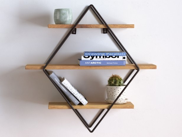 Diamond Cross Planes Shelf 2
