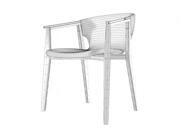Knit Dining Armchair 5