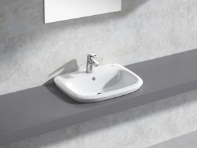 Eurostyle Semi-recessed Basin 60 Set