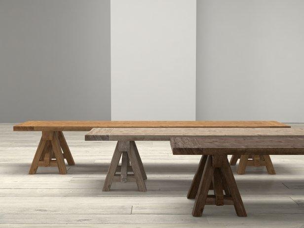 Benson Sawhorse Coffee Table 8