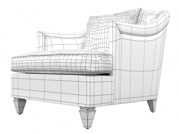 Toulouse Club Chair 4