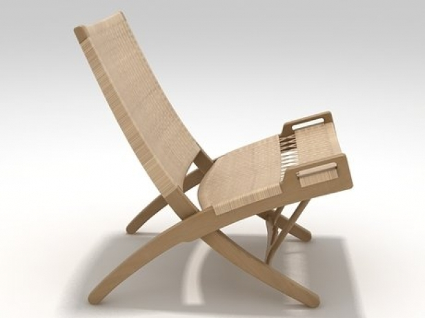 Pp512 Folding Chair 3d Model Pp Mobler Denmark