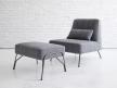 Humphrey Fireside Chair & Ottoman 4