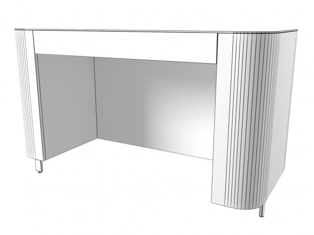 Postmoderne Desk 3