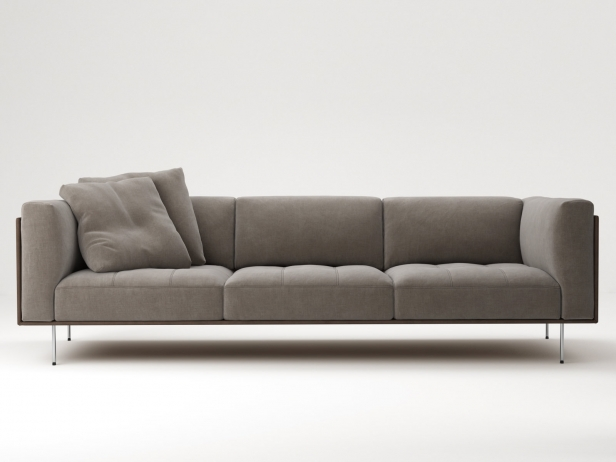 Rod Sofa 240 3d model  Living Divani