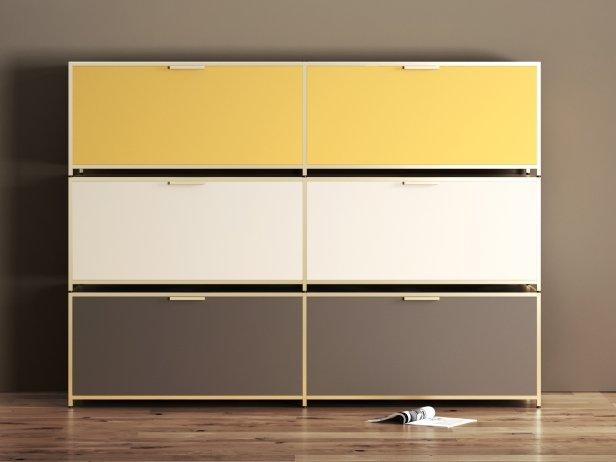 Dita Tv Cabinet 3d Modell Ligne Roset
