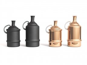 MADAM STOLTZ Bottle Vases