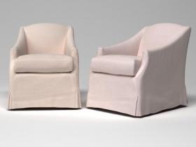 Demi armchair&ottoman