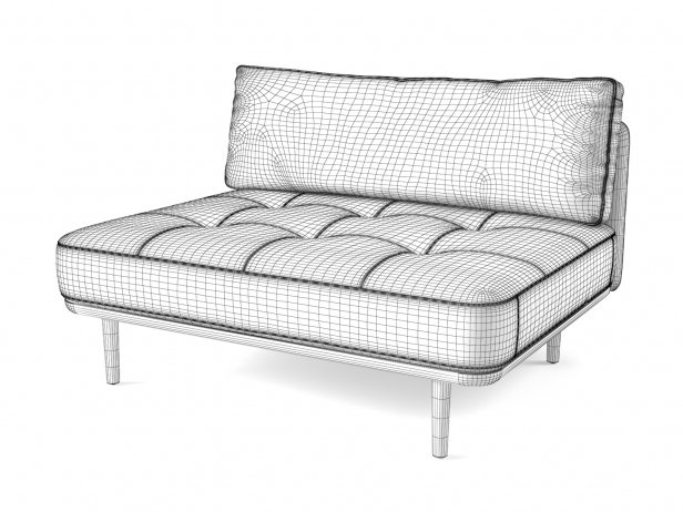 Utility One Side Sofa 3