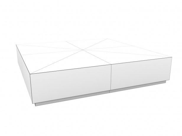 Machinto Square Coffee Table 9