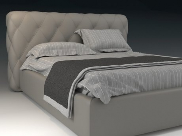 Letto 01 3d model orme for Letto 3d dwg