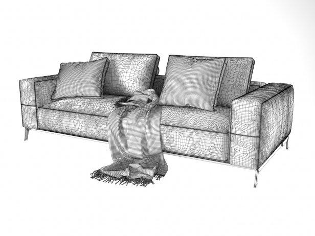 Ettore 2-Seater Sofa 6