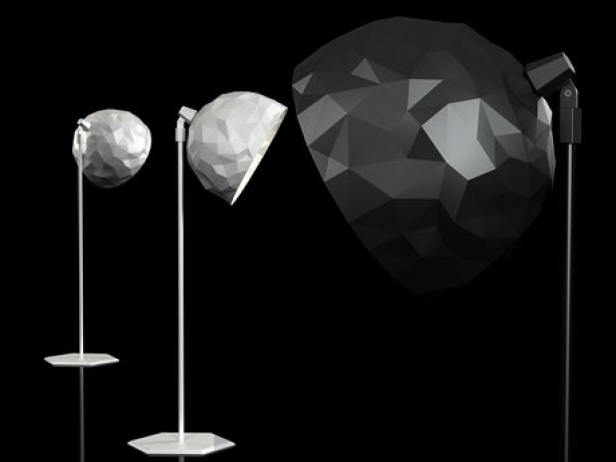 Rock Standing Lamp 2