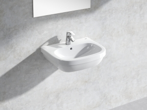 Euro Wall-hung Basin 55 Set