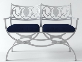 Valletta Double Bench