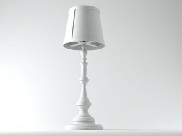 Paper floor lamp 3d model moooi for Moooi paper floor lamp replica