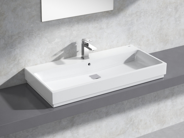 Cube Countertop Basin 100 Set 1