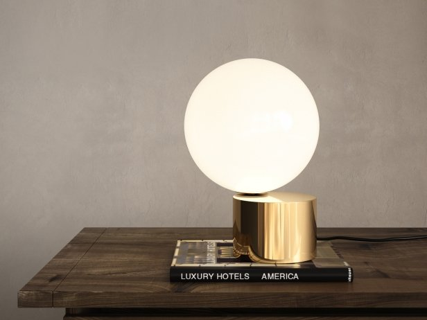 Tip of the Tongue Table Lamp 2
