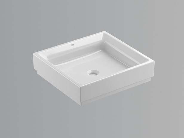 Cube Countertop Vessel 50 Set 4