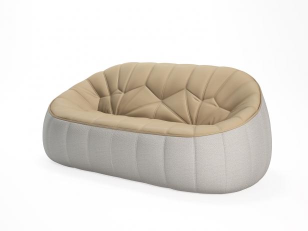Ottoman 2-Seater Sofa 4
