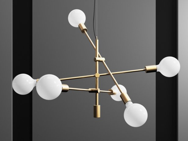Mobile chandelier 3d model west elm mobile chandelier 1 aloadofball