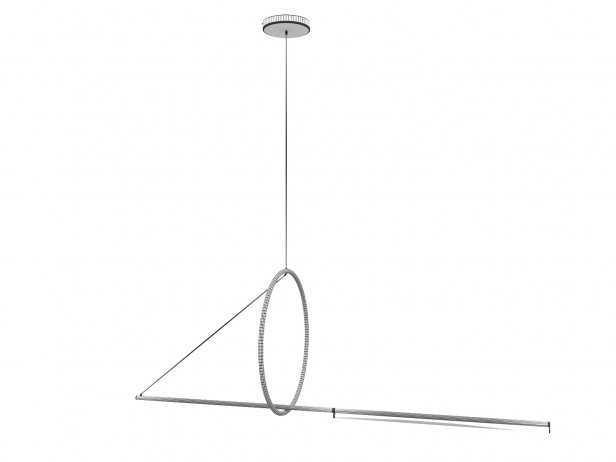 Cercle et Trat Suspension Lamp 3