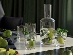 Ripple Glass Tableware Set