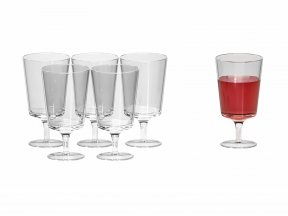 Aurora Water and Wine Glasses